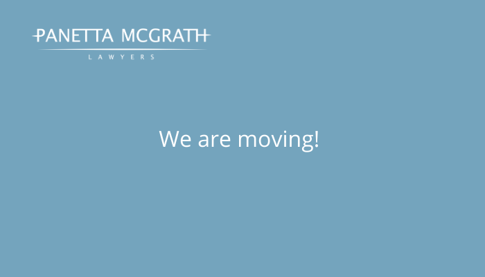 Panetta McGrath Lawyers announces office move