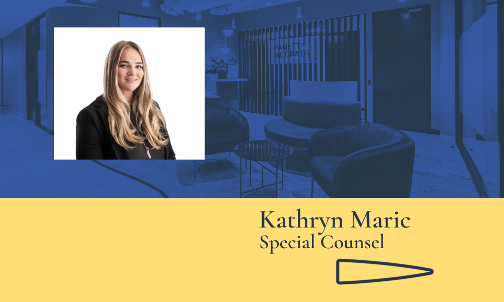 Kathryn Maric joins Panetta McGrath's Employment and Workplace Relations team