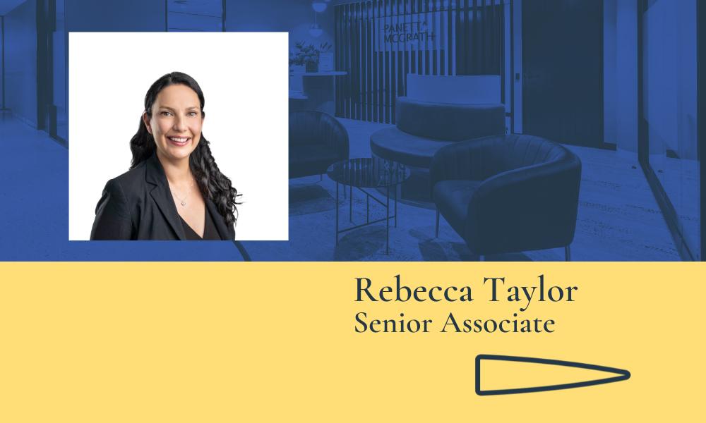 Panetta McGrath Lawyers promotes Rebecca Taylor